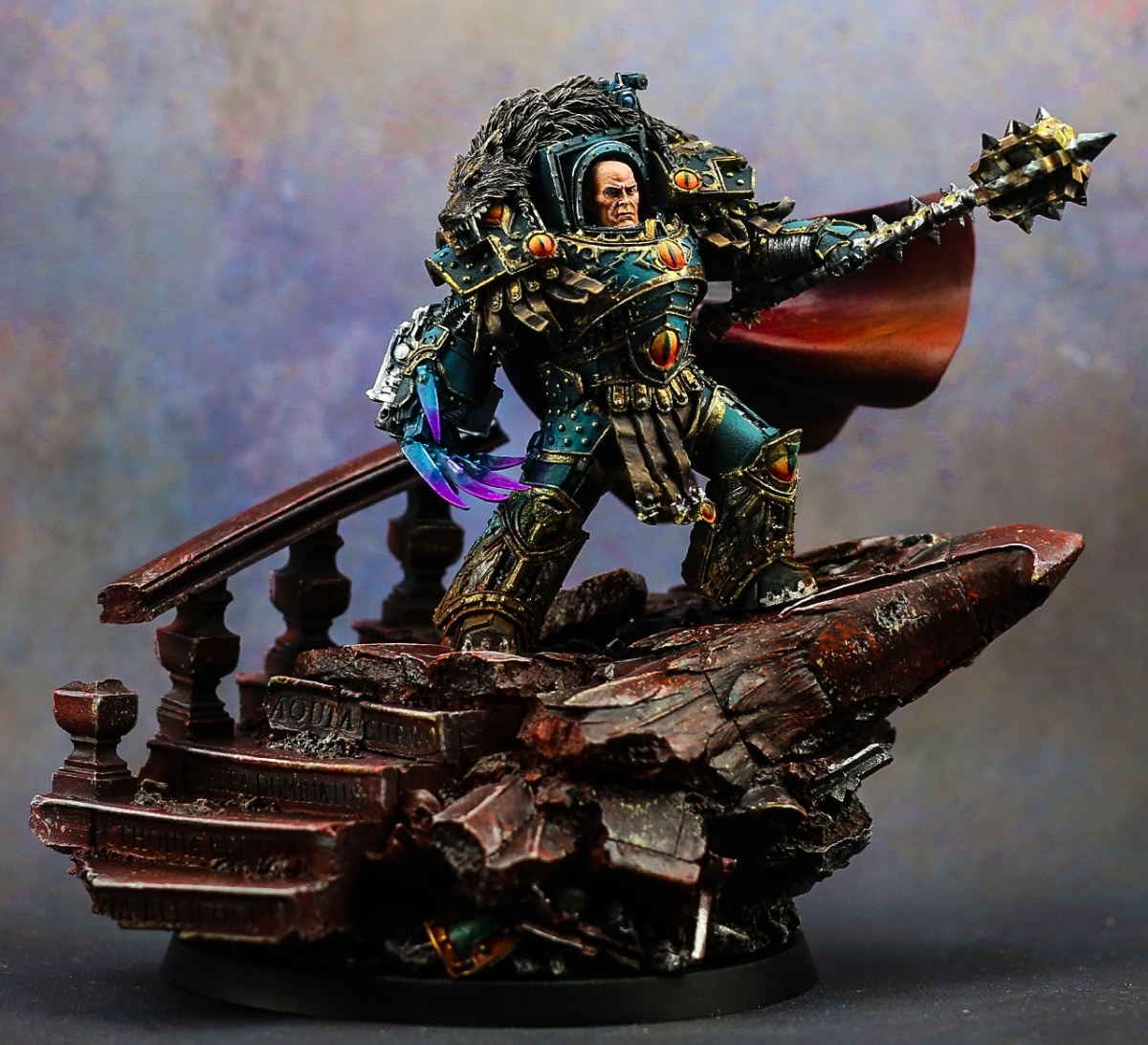 How Much Is A Paint Job >> Horus - the Warmaster by Drifter · Putty&Paint