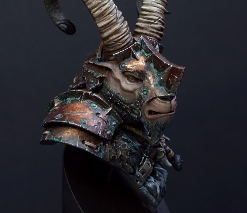 Sha'un - Ram Tribe Warrior