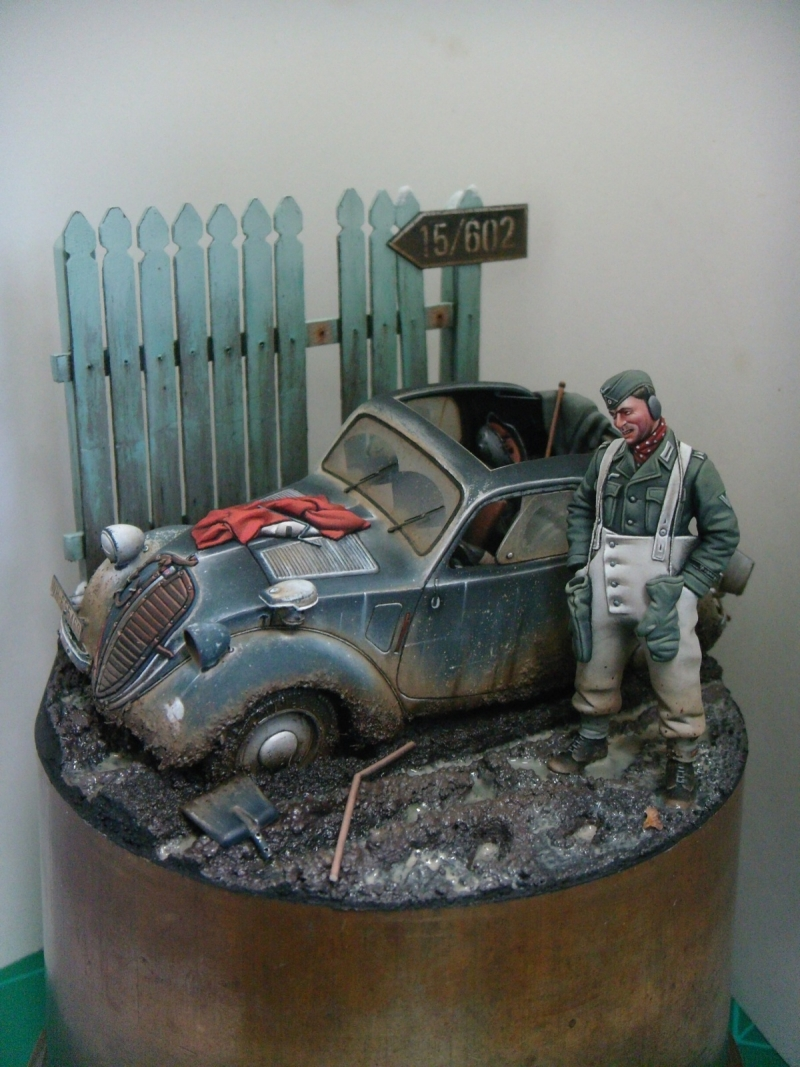1/35th scale, Tamiya German Simca 5, Eastern Front.