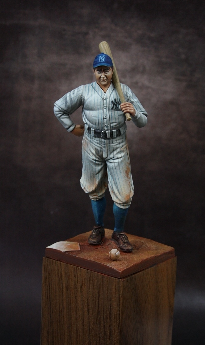 Vintage Baseball Player By Fonsy 183 Putty Amp Paint