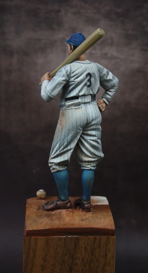 Vintage Baseball Player