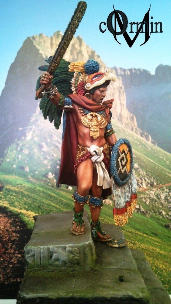 Maya Warrior Eagle Clan Commander By Cormin 183 Putty Amp Paint