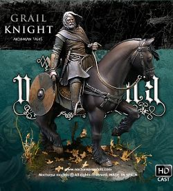 Grail Knight 54 mm, Arthurian Tales serie