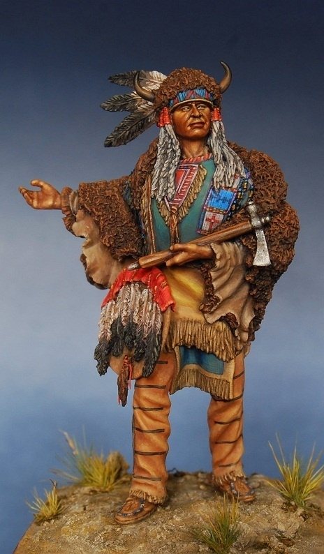 Indian Chief By Konstantinpinaev 183 Putty Amp Paint