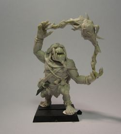 Shaman Orc (Shieldwolf miniature commission)