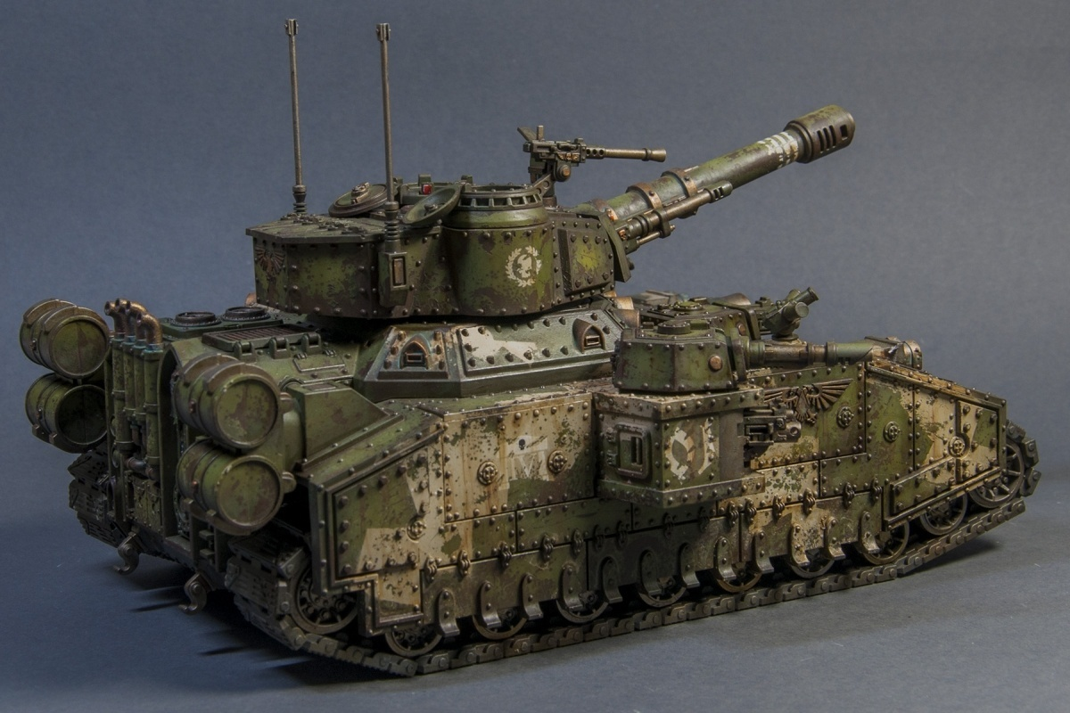 Army Tanks For Sale >> Cadian Baneblade by Farbfanatiker · Putty&Paint
