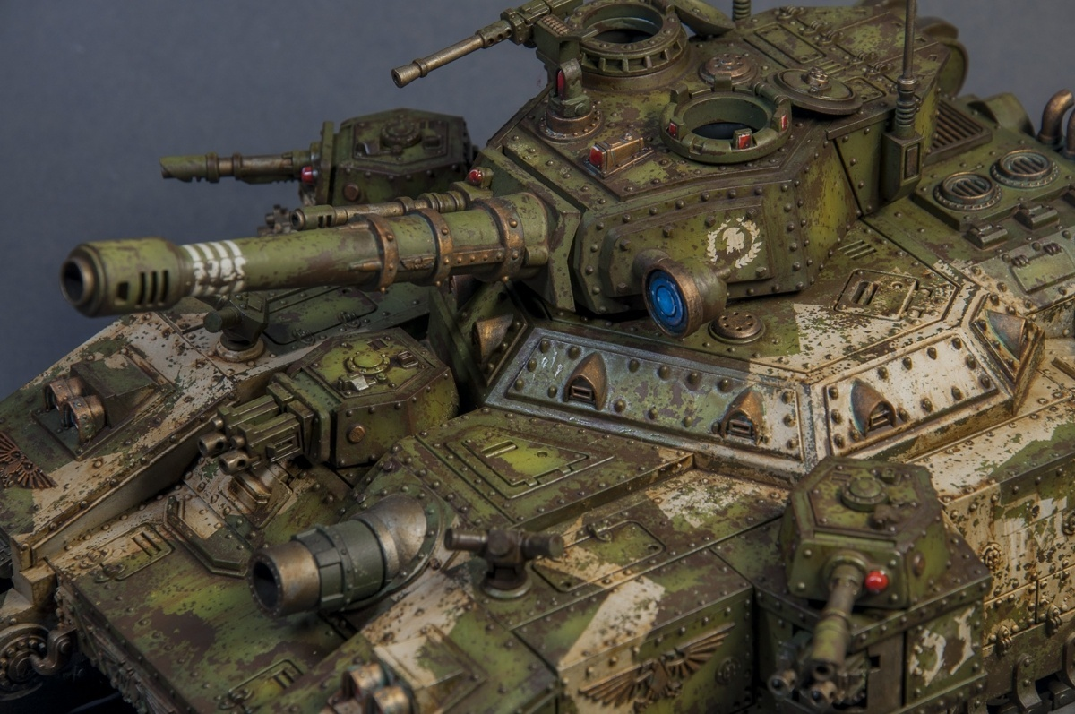 Cadian Baneblade By Farbfanatiker 183 Putty Amp Paint