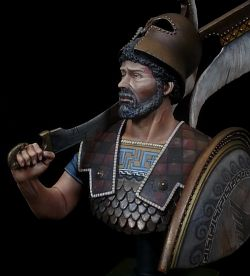 Greek Hoplite 'Thermopylae' 480bC.
