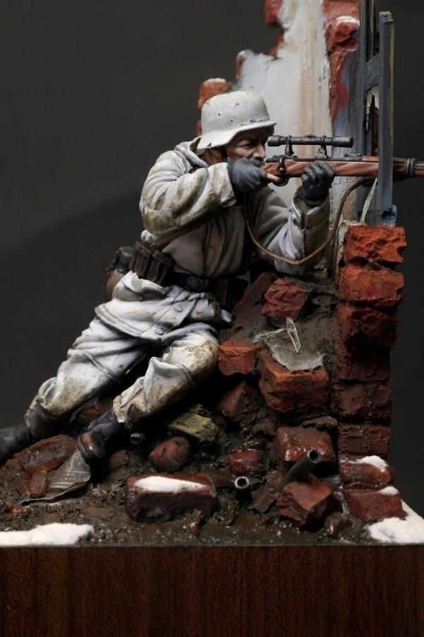 Ww2 German Sniper By Yong Min Kim 183 Putty Amp Paint