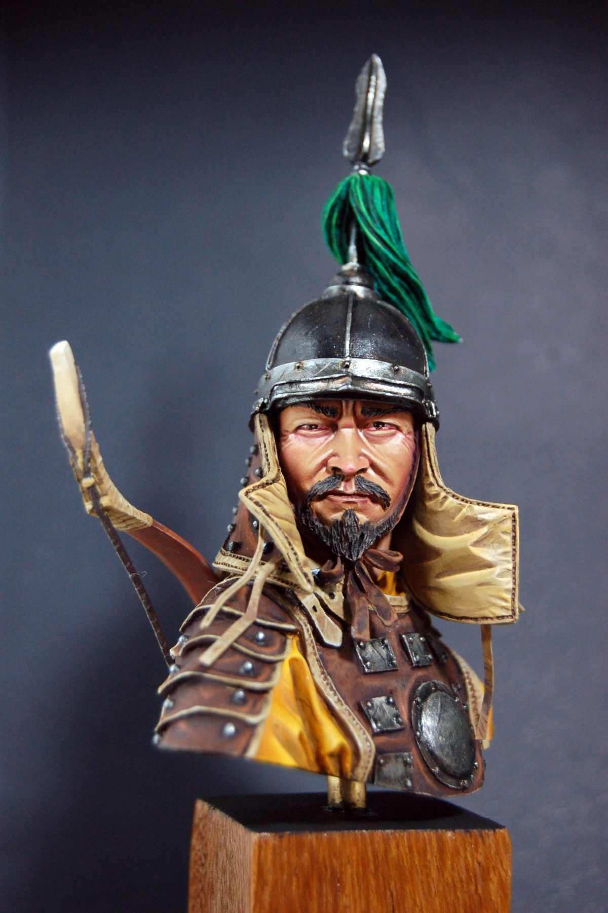 mongol warrior by rodrigoguilherme  u00b7 putty u0026paint