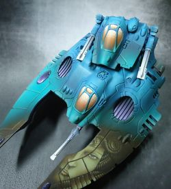 Eldar Wave Serpent - The Gorgon