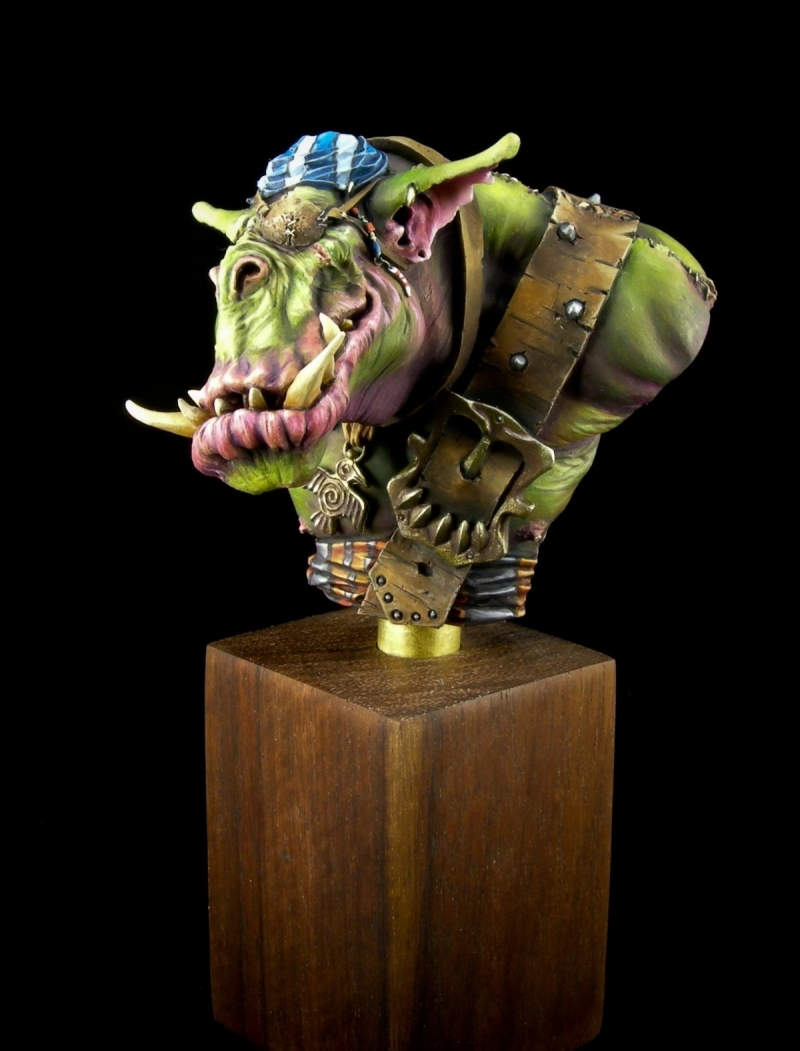 Morko - Orc Pirate Bust