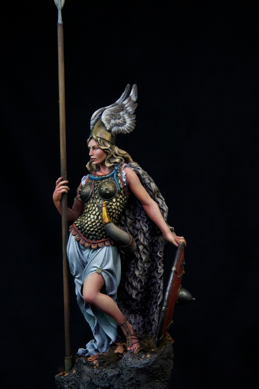 Die Walk 252 Re Valkyrie By Kaz Quot Histone Quot 183 Putty Amp Paint