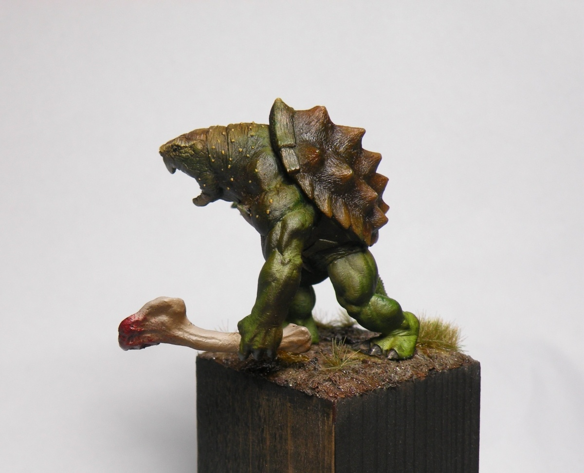 Whati The War Turtle By Florian Quot Oni Quot Nampont 183 Putty Amp Paint