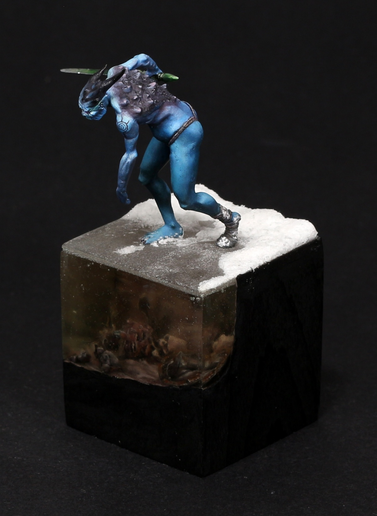 Ice Demon By Klaus Dorn 183 Putty Amp Paint