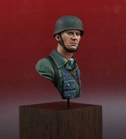 German Paratrooper WWII, Stormtroopers S1603 GP bust, 1/16 scale (120mm)