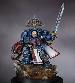 Ultramarine Terminator (GD 2014 Gold) Dark Background