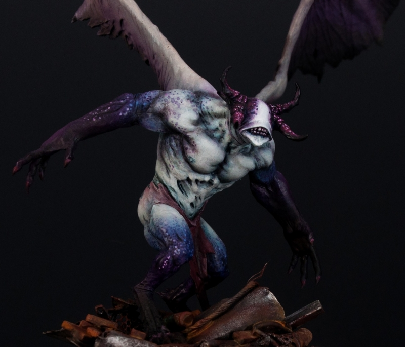 Slaanesh Demon Prince By Paweł Makuch Quot Monstroys Quot 183 Putty