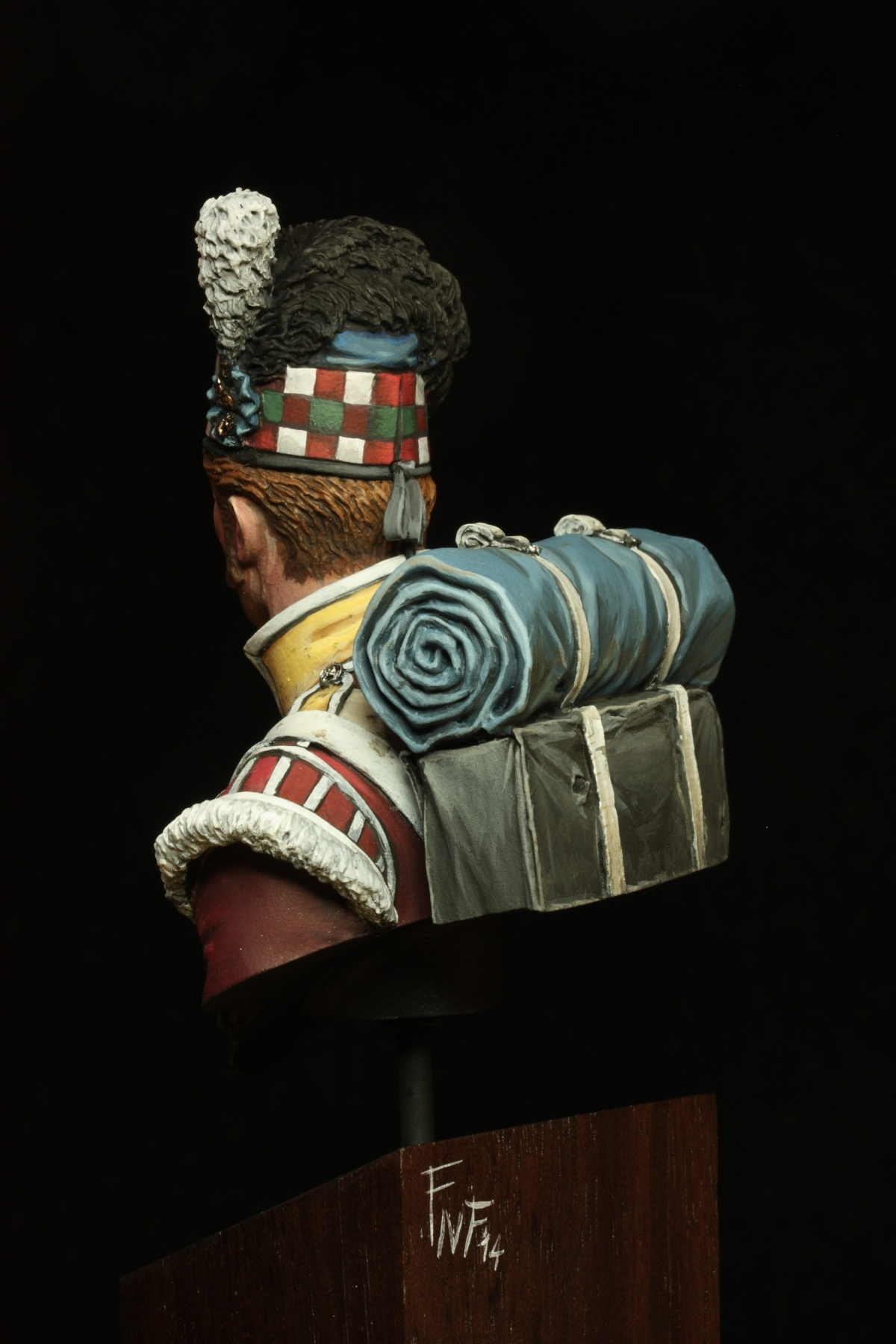 2014 Highlander For Sale >> 92° gordon highlander bust by Fabio Naskino Fiorenza · Putty&Paint