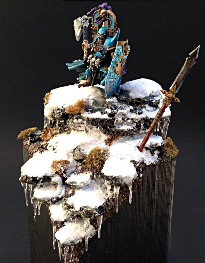 Frozen Exalted Hero of Khorne