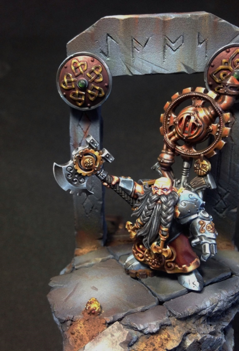 Dwarf Engineer, Golden Demon 2014 project