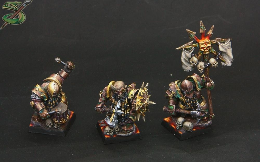 chaos dwarf infernal guard by sergey  u0026quot ravenswood u0026quot  gybin