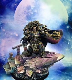 HORUS THE WARMASTER PRIMARCH