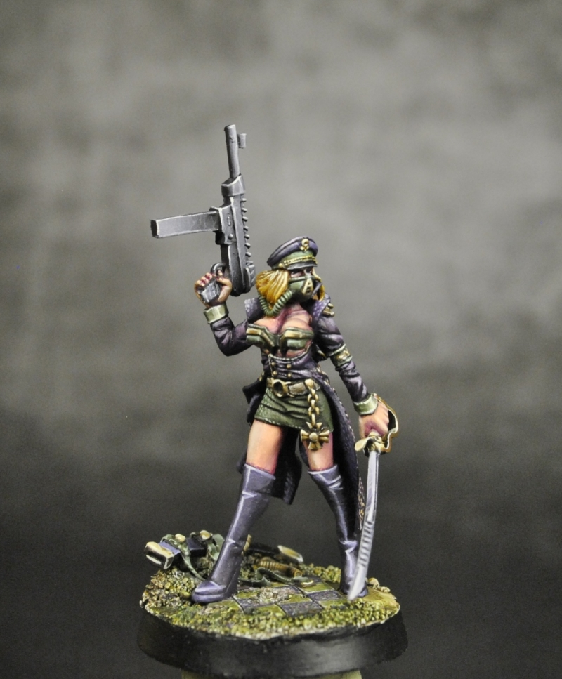 Sci Fi Female Komissar K By Alessandro 183 Putty Amp Paint