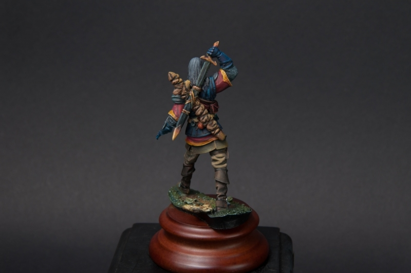 andrea miniatures white wolf - 54mm