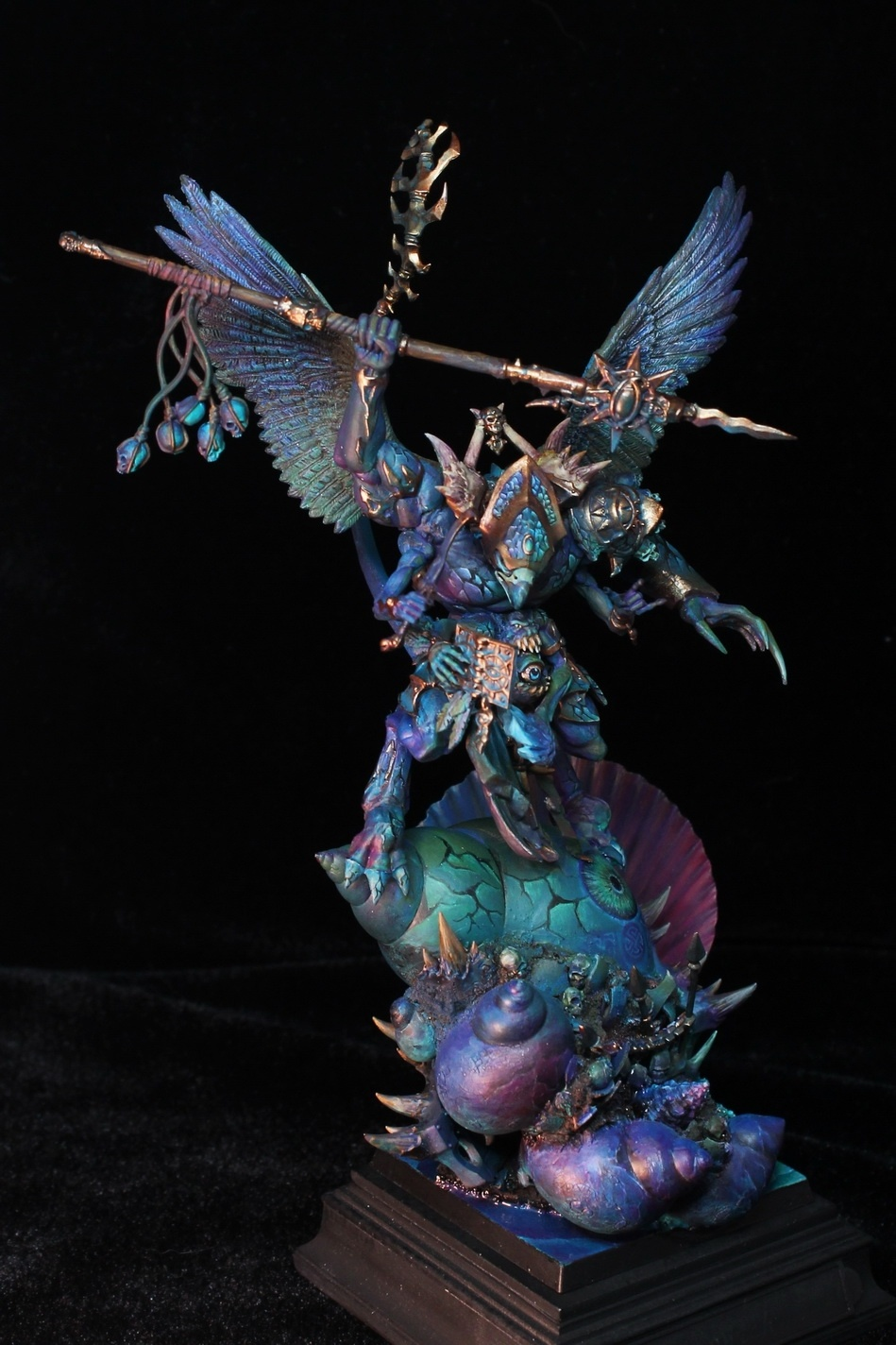 Tzeentch Demon Prince By Vincent Zhang Duskfrost 183 Putty