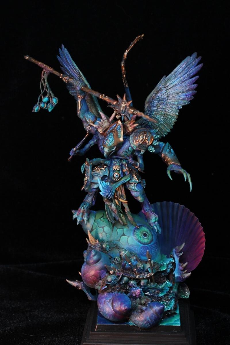 Tzeentch Demon Prince By Vincent Zhang Duskfrost 183 Putty
