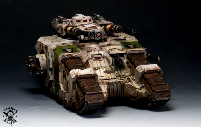 Death Guard Sicaran Battle tank