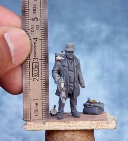 """Alucard"" 32mm Infamy Miniatures"