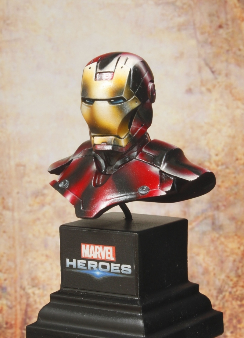 Bust Iron Man Knight Model