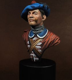 Private 42nd Black Watch, 1750