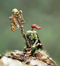 Nubbnutz and Rocky - Goblin Shaman on Rogue Idol