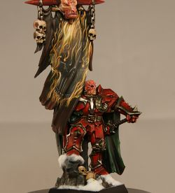 D'Aargan the Crimson, Battle standard bearer of Khorne
