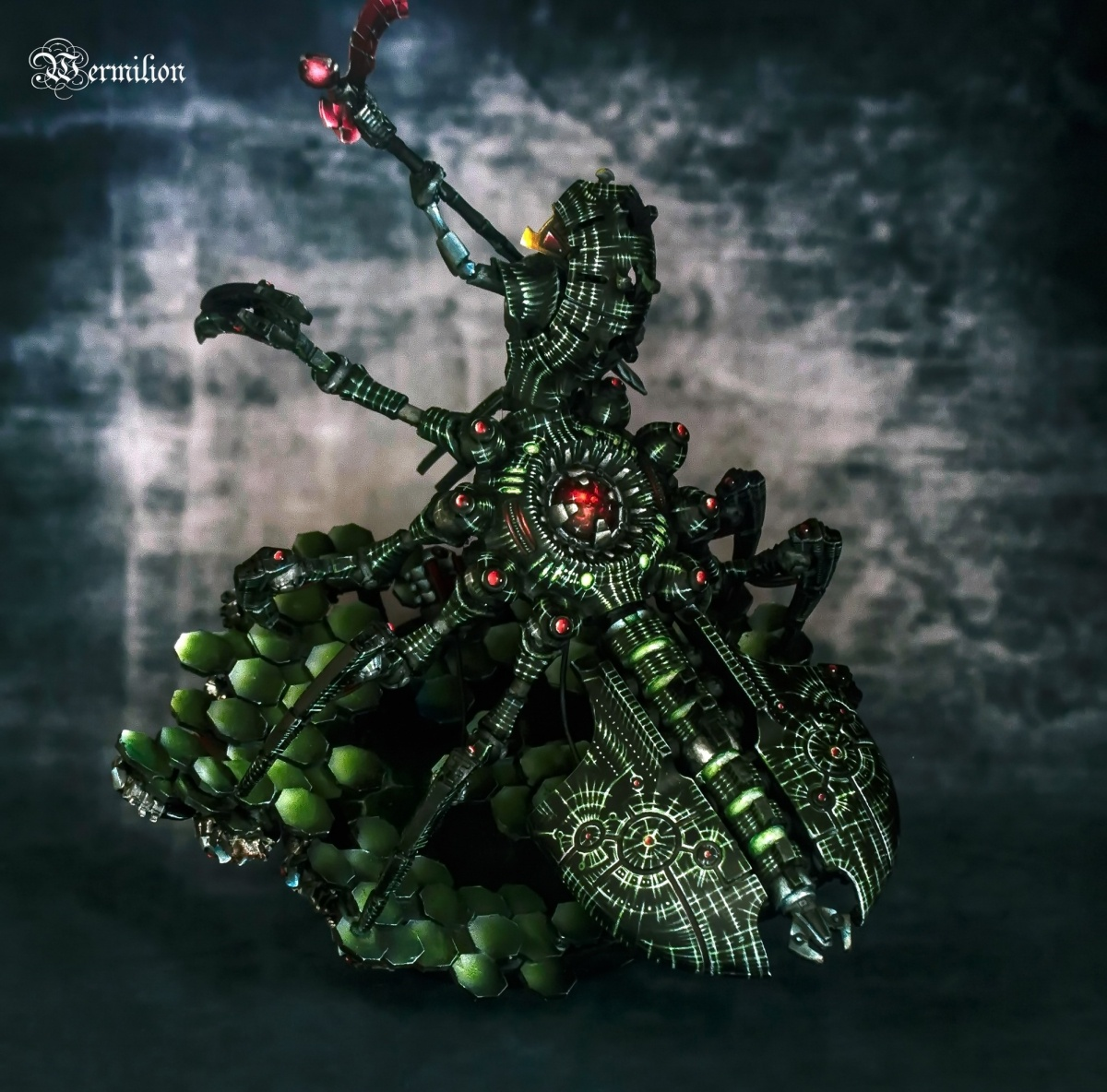 Necron Destroyer Lord For Warhammer 40k Conversion By