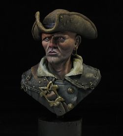 Pirate bust