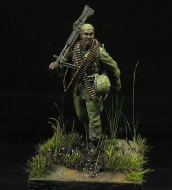 Us Infantry Machine Gunner Vietnam '68