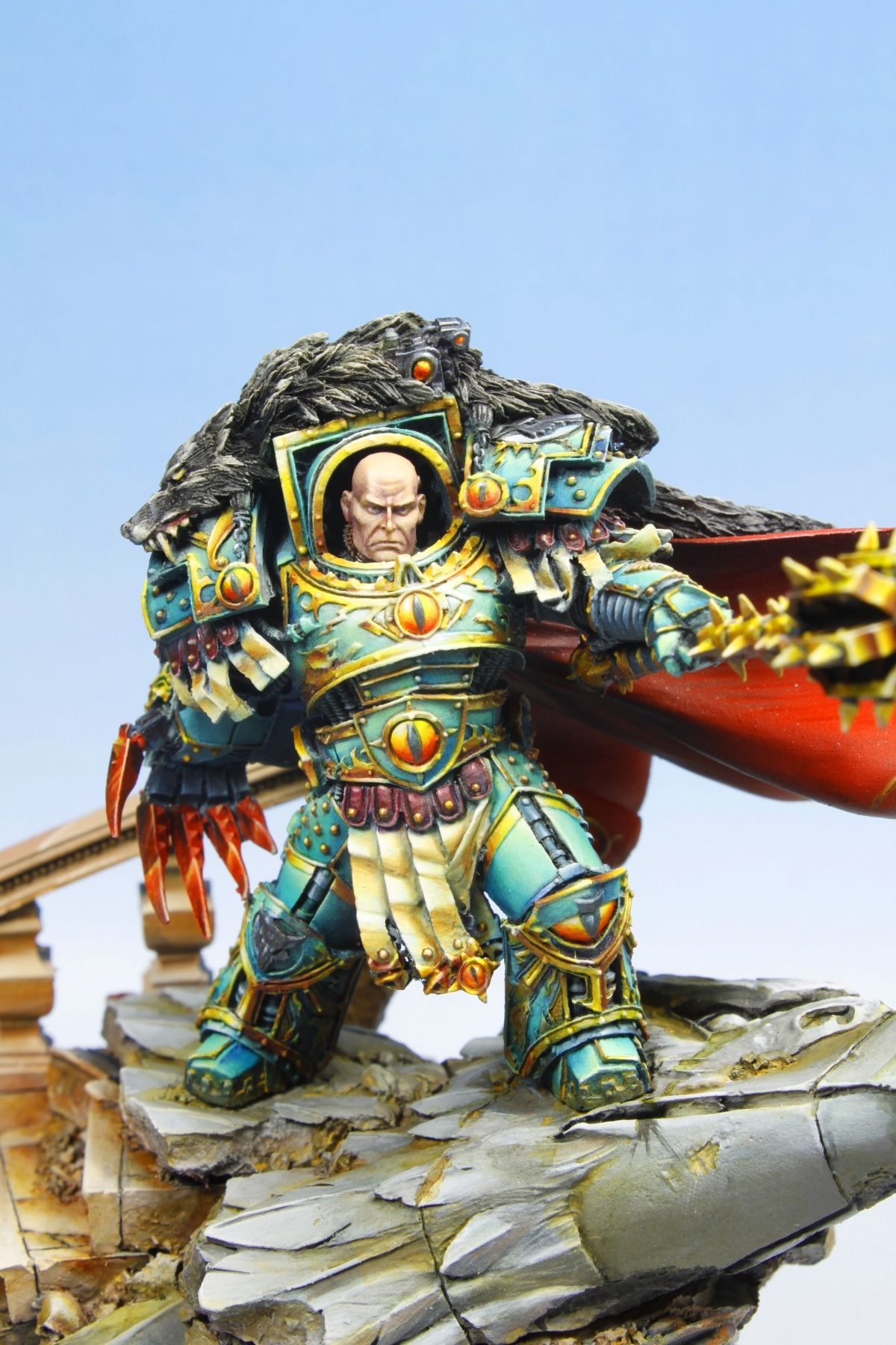 Horus Lupercal By Damien Tomasina Quot Aphorys Quot 183 Putty Amp Paint