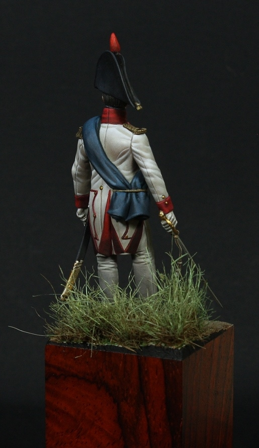 Officier, 3° Grenadiers de la Garde Imperiale –  1812 - 54 mm