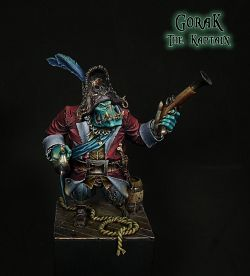 Gorak, The Kaptain - Black Sailors