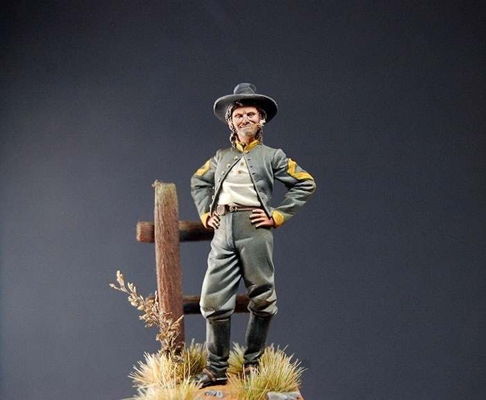 Sergeant Major Confederate Cavalry, 1862