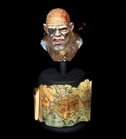 Pirate bust - Colin