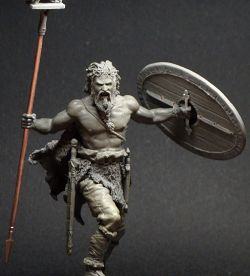 Celtic warrior 1st century b.c. (75mm)