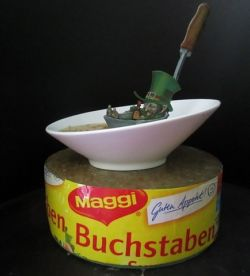 """Typical German ! ....MAGGI? """