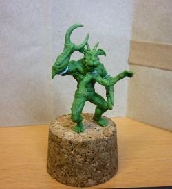 Type III Demon for Otherworld miniatures.