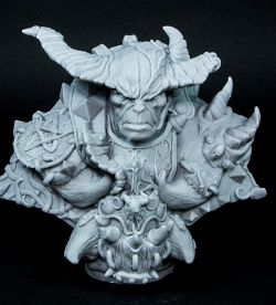 Daemon Warrior Bust