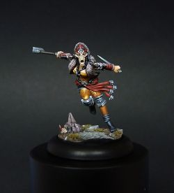 Minx from Guild-Ball & Ax Faction